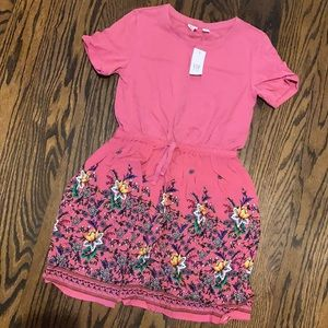 GAP girls size Medium M (8) Pink short slve dress